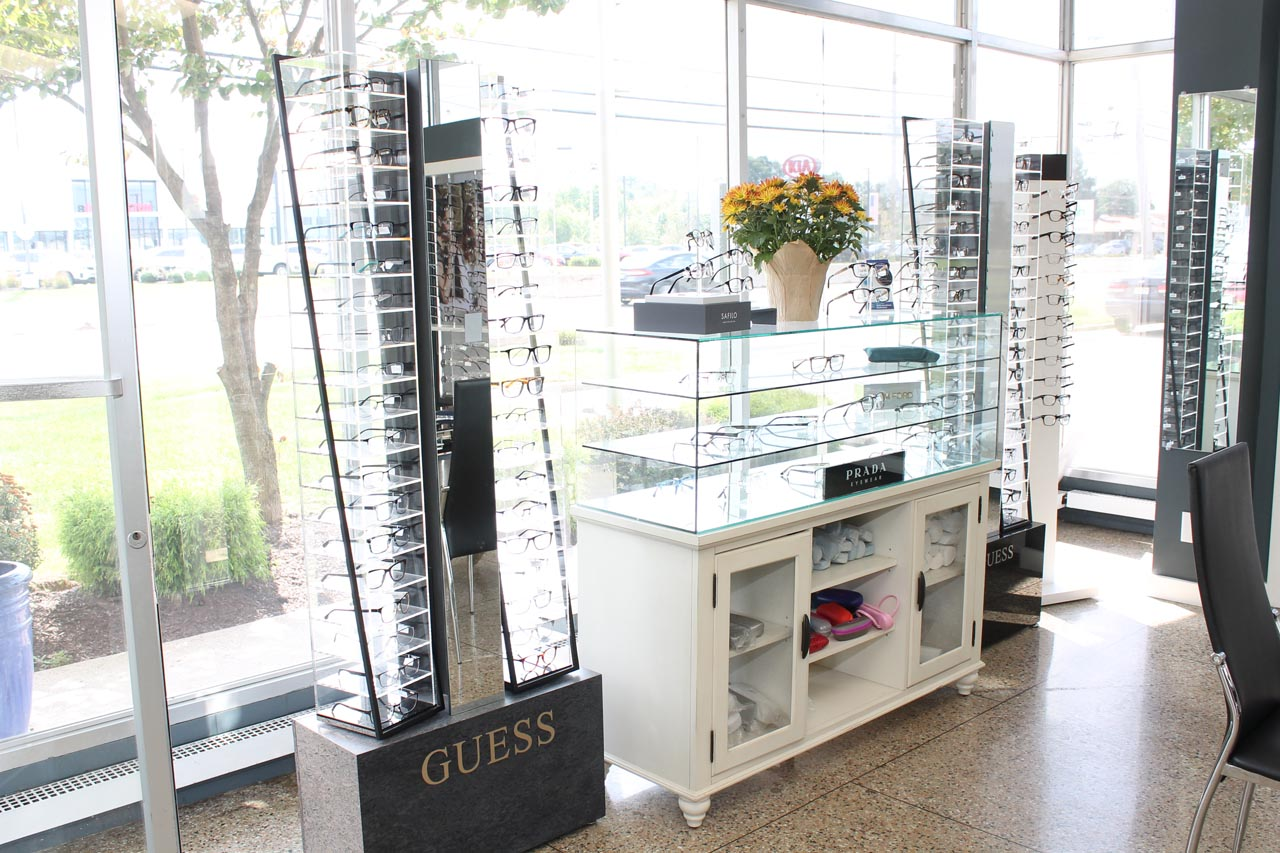 Designer Eyewear at Doctor's Eye Center of Burlington, New Jersey