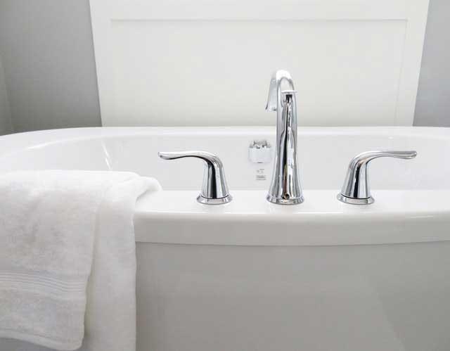 bathroom bathtub ceramic chrome 534116
