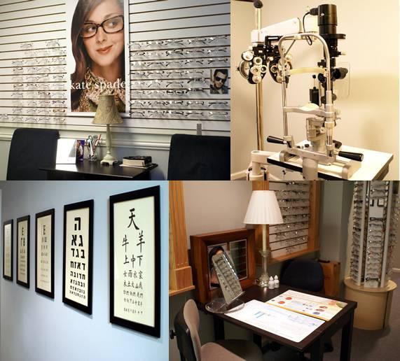 interior of eye associates of richboro in richboro, pa