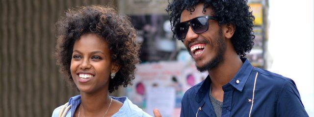 Happy African American Couple Sunglasses 1280x480 640x240