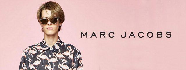 Eye doctor, man wearing Marc Jacobs sunglasses in West Orange, NJ