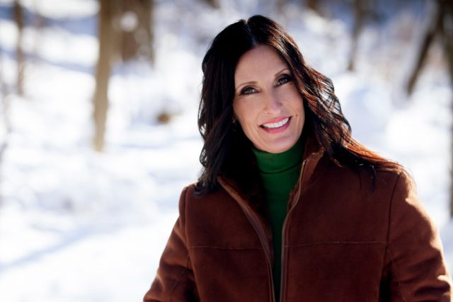 Middle Aged Woman Winter 1280×853