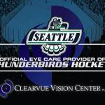 Eye Doctors of the Seattle Thunderbirds Hockey team