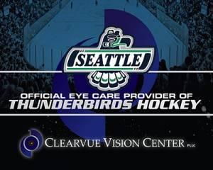 Eye Doctors of the Seattle Thunderbirds Hockey team