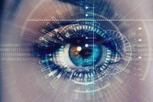 eye closeup digital