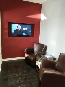 reception Roku room