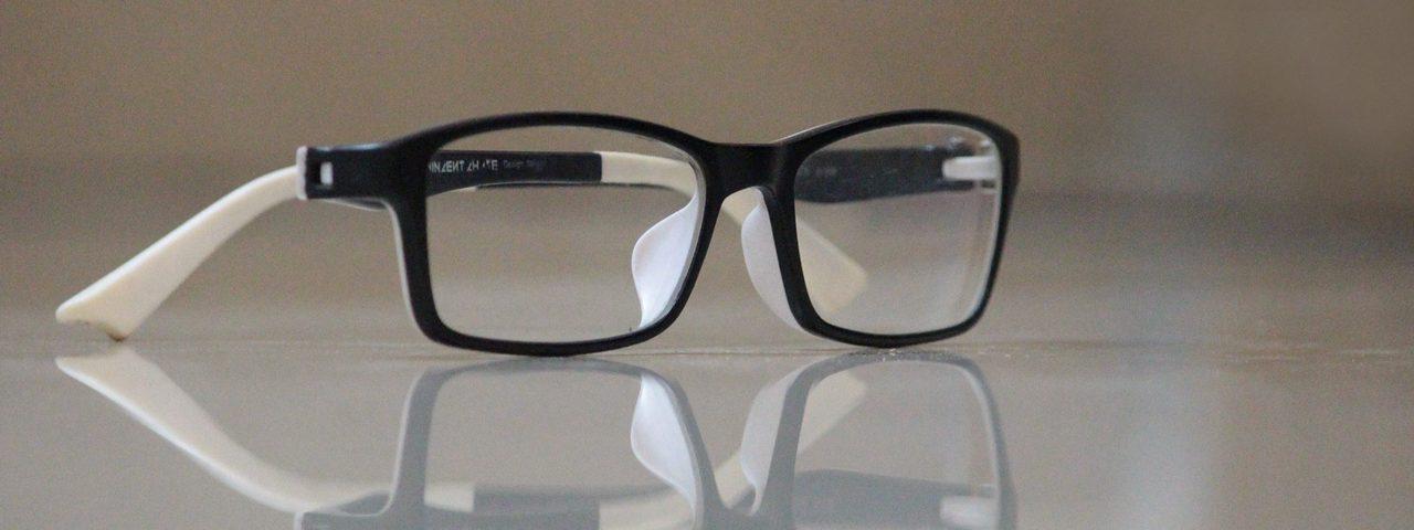 Eye glasses on a table, Eye Care in Hot Springs, Arkansas