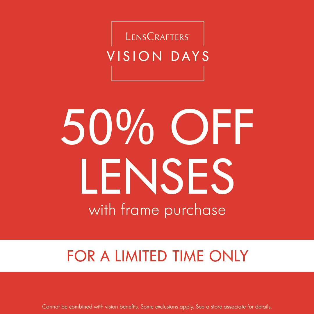 Lenses with Frame Purchase Offer