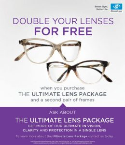 essilor poster lens package
