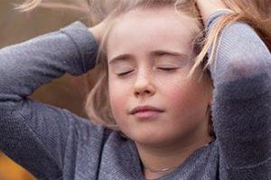 girl closing eyes Thumbnail