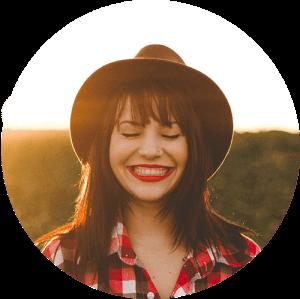 smile girl cowboy hat 300×300 min