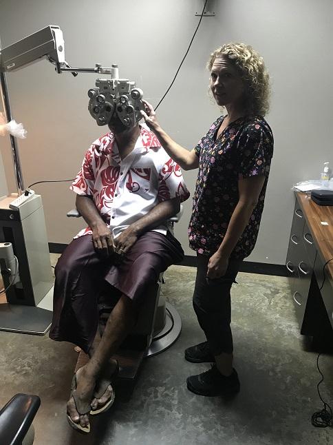 Volunteer Eye Care in Fiji