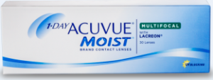1-DAY ACUVUe MOIST- MULTIFOCAL Contact Lenses