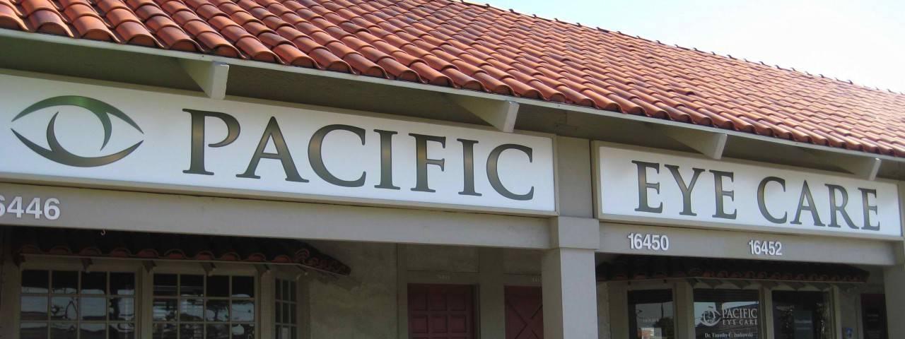 Pacific eye care in Huntington Beach, CA