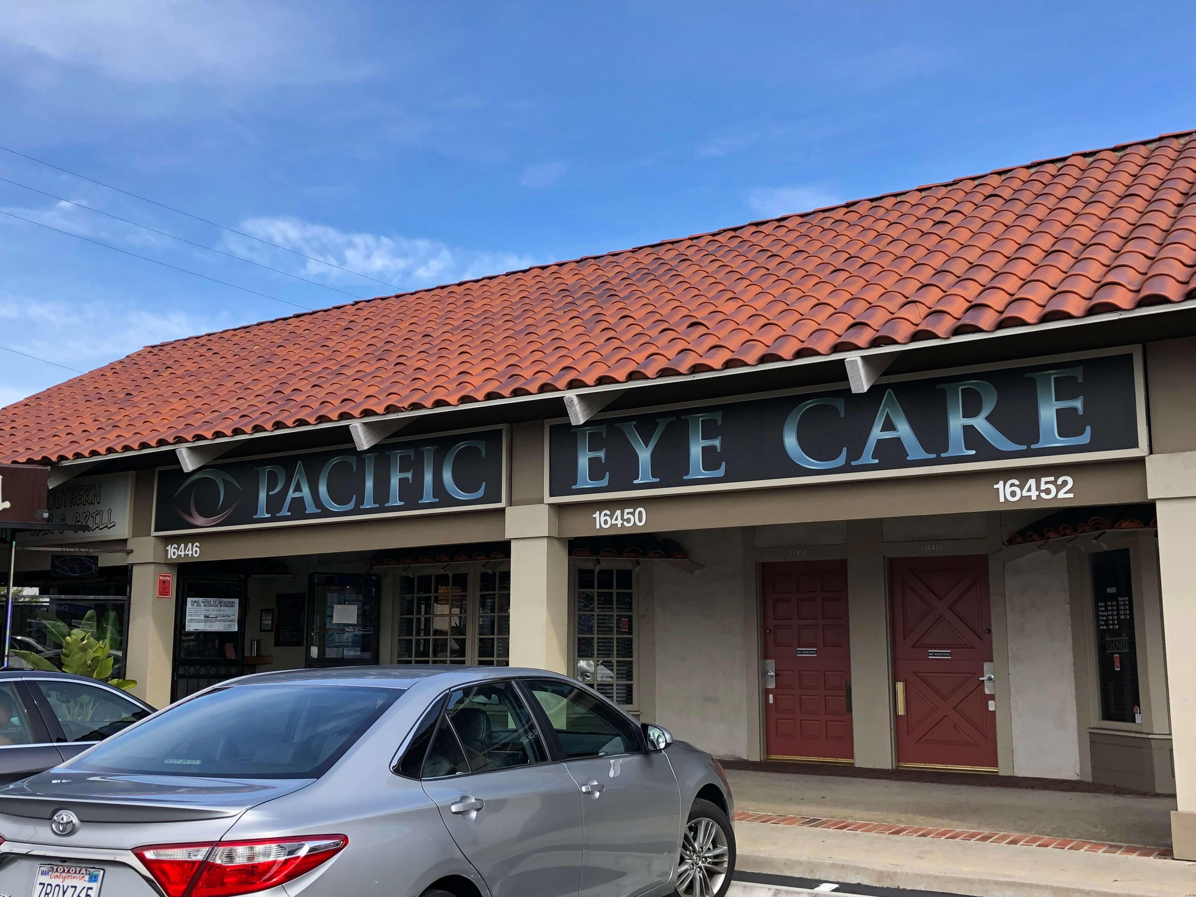 0bd33ed49ac Pacific Eye Care  Optometrist in Huntington Beach