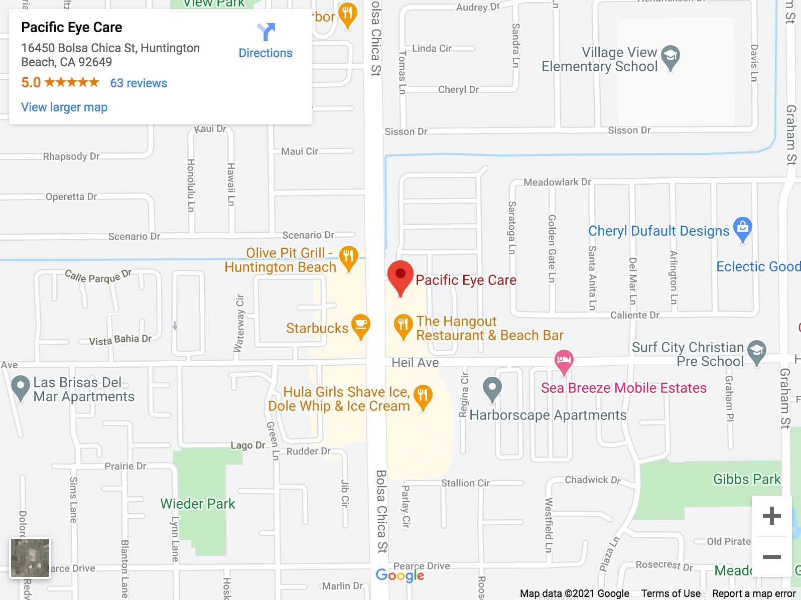 Your eye care clinic in Huntington Beach - Pacific Eye Care