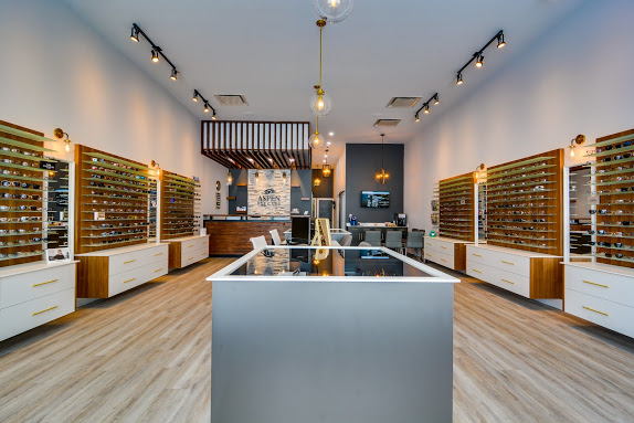 aspen eye care eyeglasses display