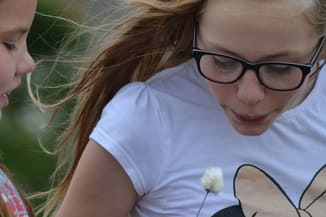 girl with glasses from sherwood park aspen eye care