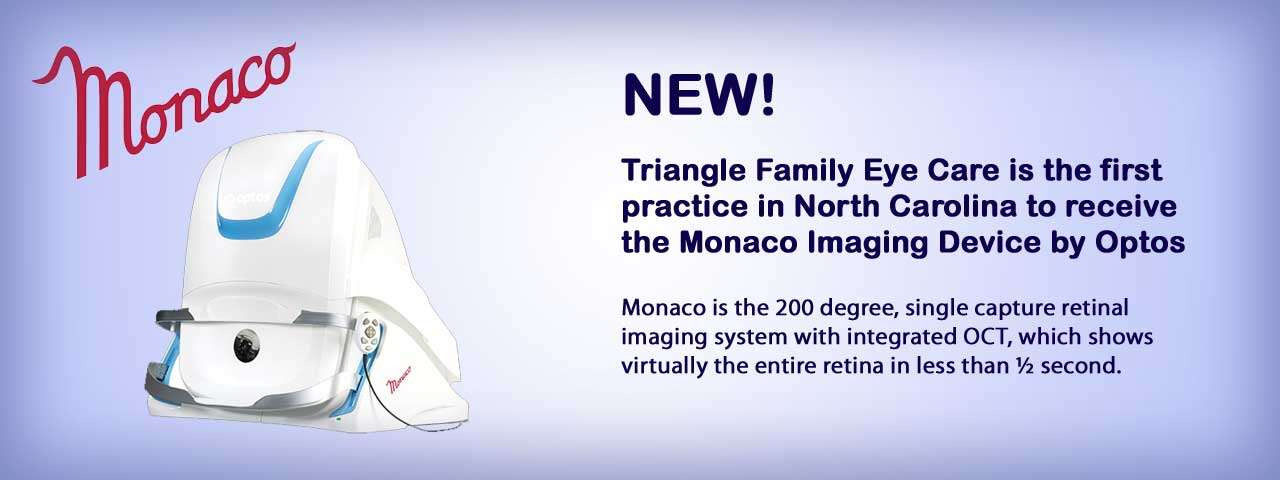 Monaco Imaging Device at Triangle Family Eyecare in Morrisville, NC