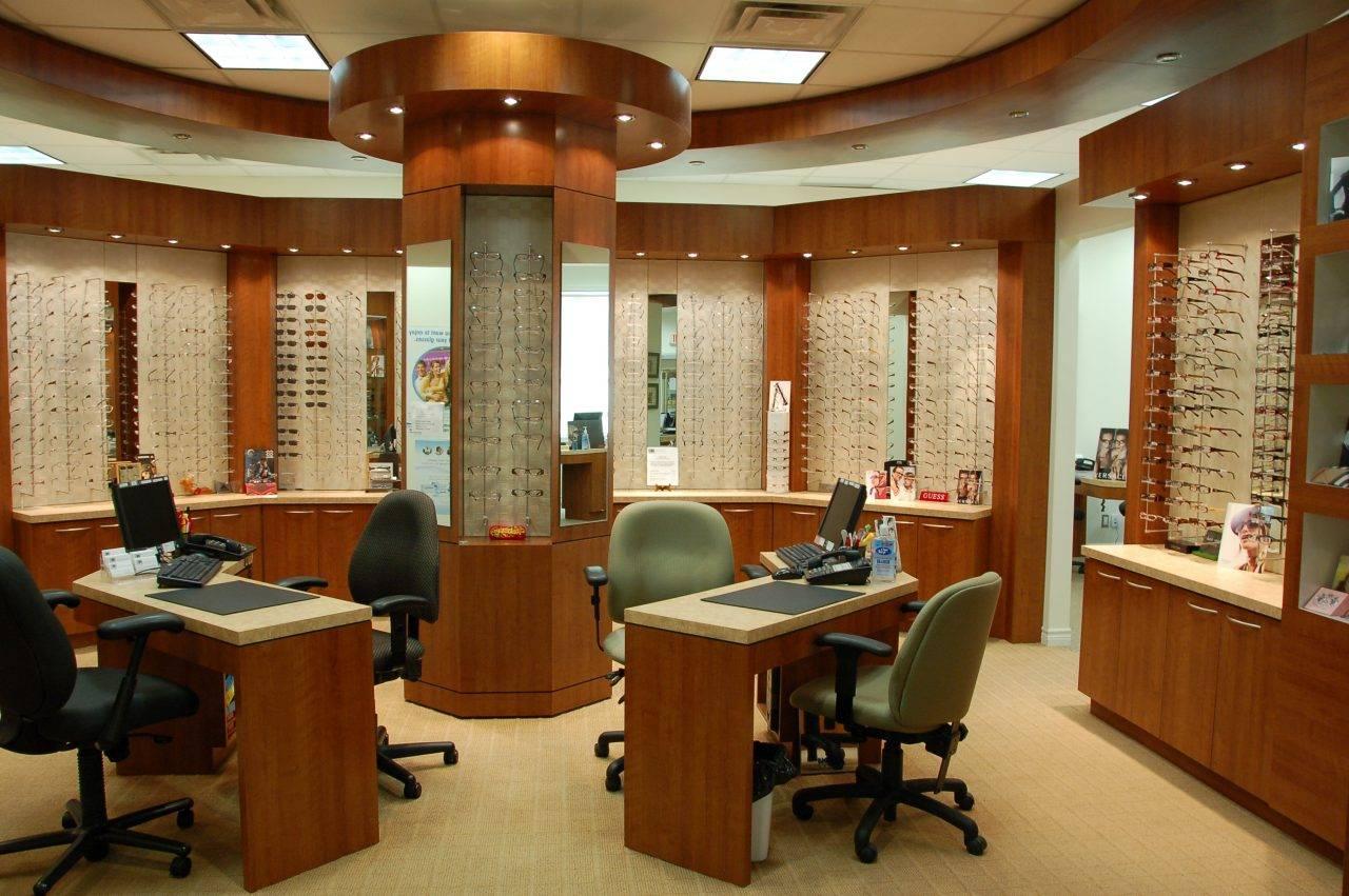 Inside our Whitby Eye Care Center