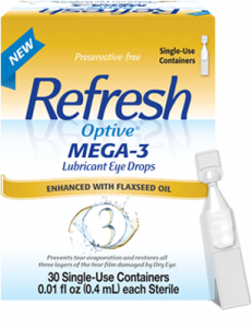 Eye Doctor, Refresh Optive Mega-3 Lubricant Eye Drops in Bardstown, KY.