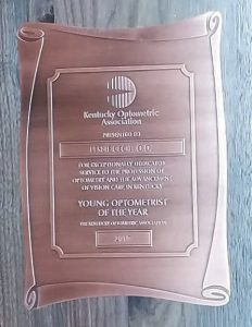 Dr Cecil Award Plaque