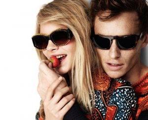Man & Woman Wearing Sunglasses, Optometrist, Bardstown, KY