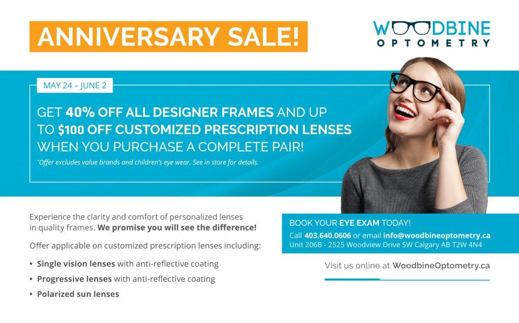 Woodbine 3rd Year Anniversary Sale!