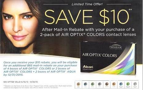 Air Optix Coupon