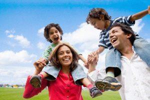 happy young family hispanic 300x200