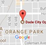 Map Dade city eyecare in FL