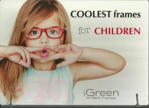 iGreen kids frames