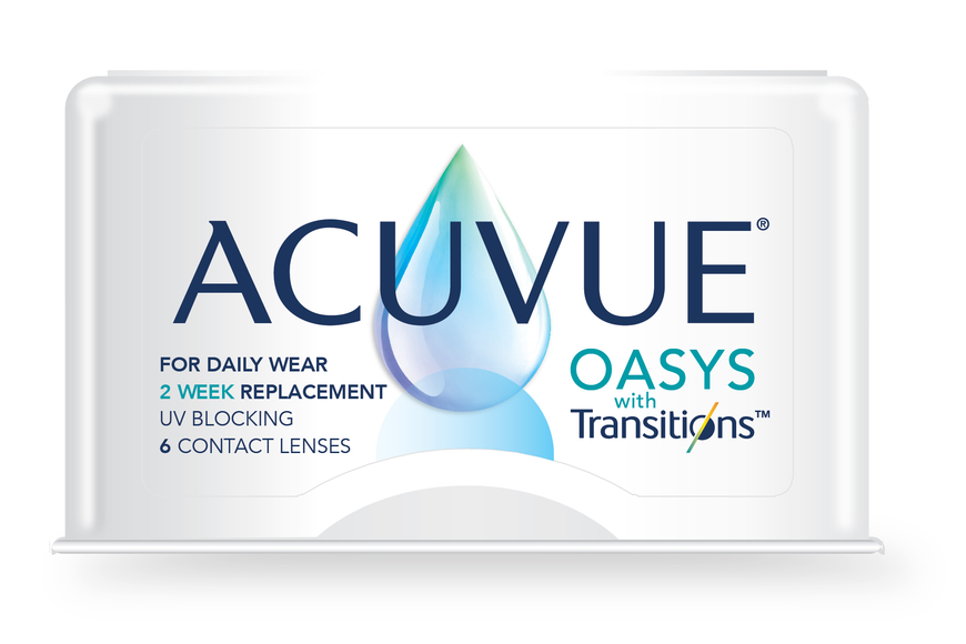 ACUVUE OASYS with Transitions in Tupelo, MS