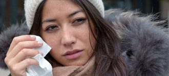Woman Teary Eye Winter 1280x480 330x150