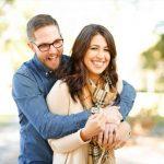 optometrist, Woman wearing scleral lenses, with boyfriend in eyeglasses in Fort Worth, TX