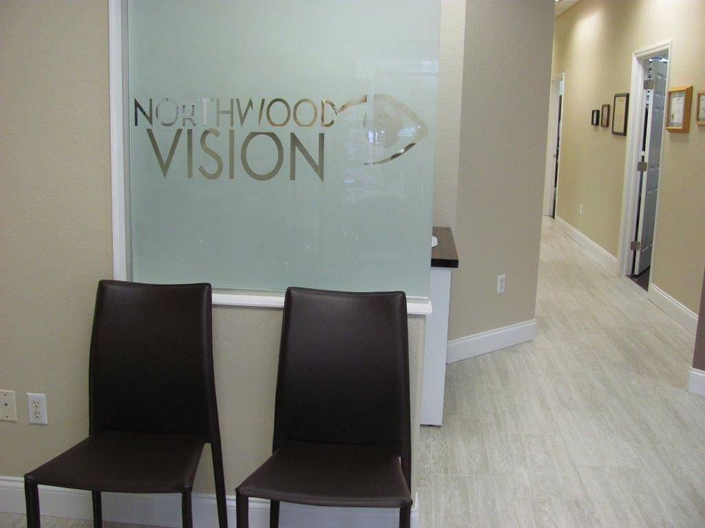 Northwood Vision new comfortable, modern waiting room