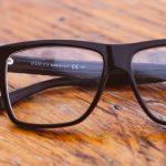 black glasses on wood table 1280×480