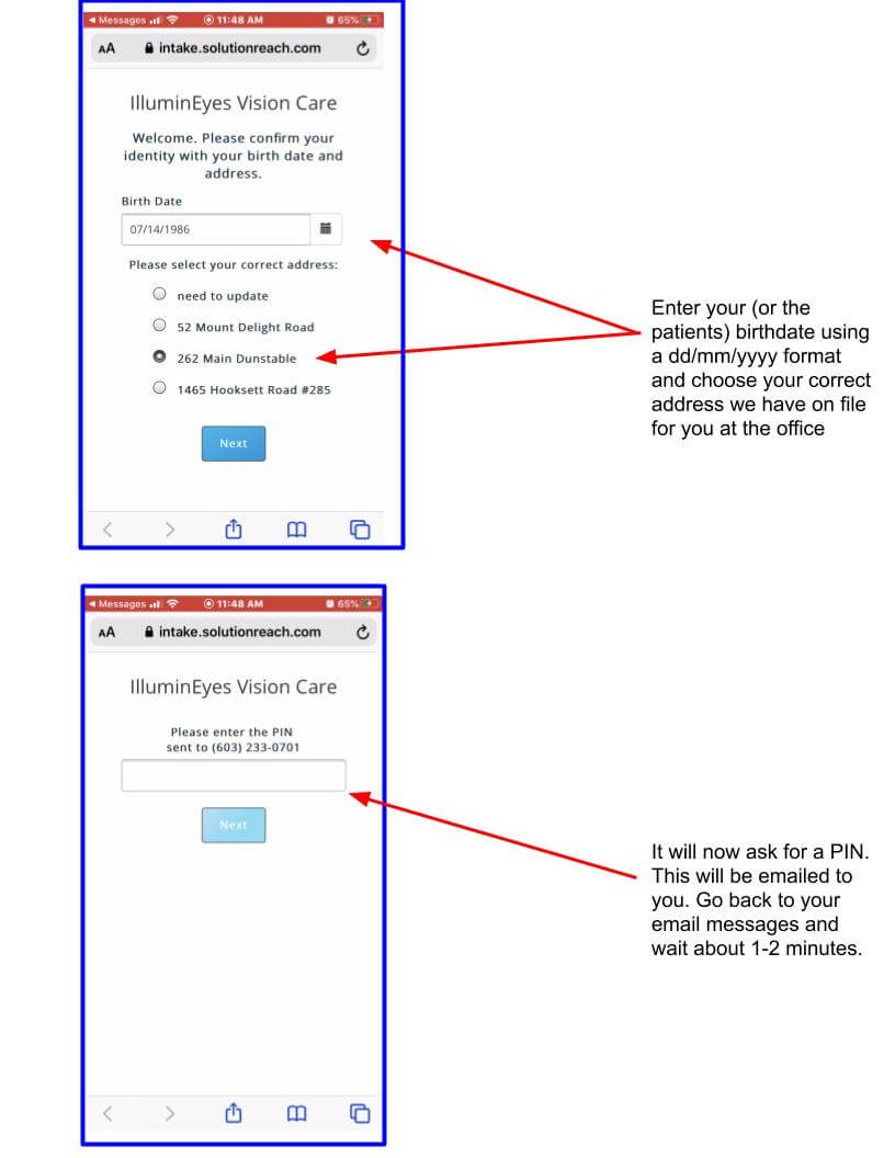 Intake email instructions walk through help (1)
