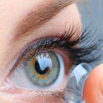 Woman Contact Eye Finger 1280×480