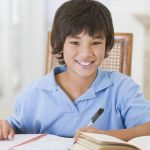 optometrist, Boy Wearing Soft Multifocal Contacts For Myopia Management in Fair Lawn, NJ
