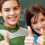 eye care, Group of kids with contact lenses for myopia controlt in Fair Lawn, NJ