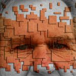 Abstract Older Man with dry eye syndrome in Fair Lawn, Bergen County, NJ