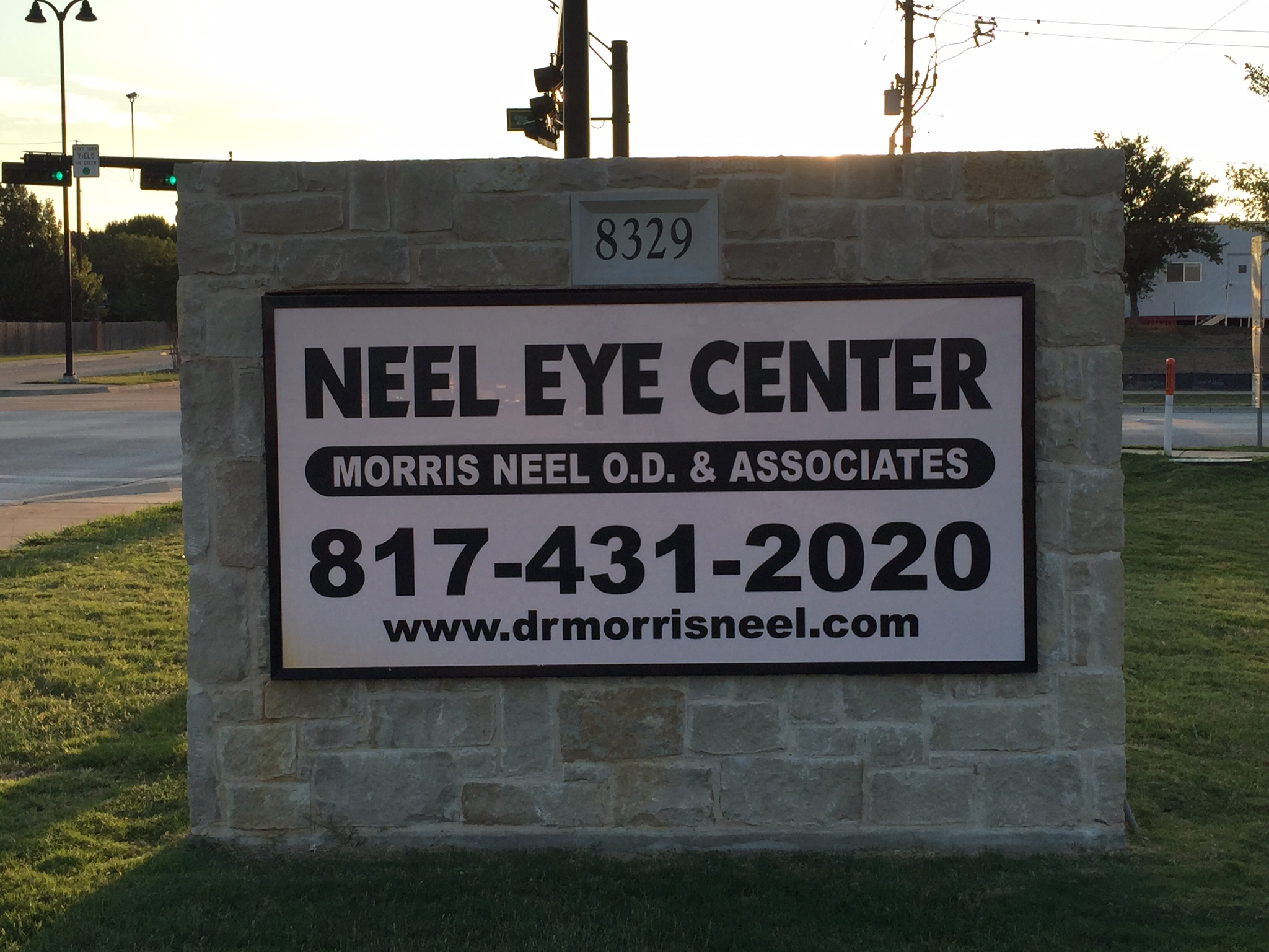 Neel-Eye-Center-sign