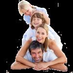 caucasian family pyramid