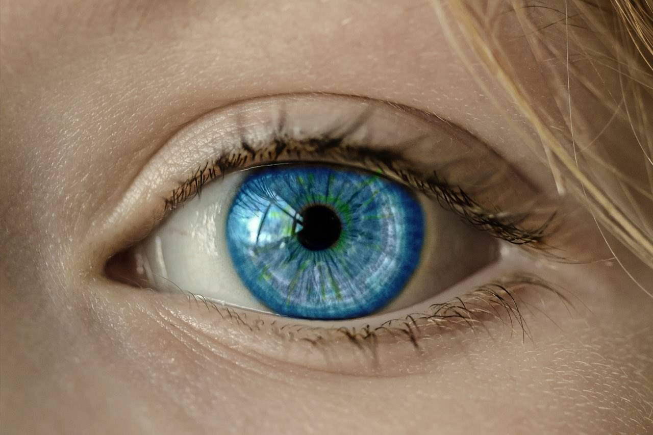 Photo of woman's eye