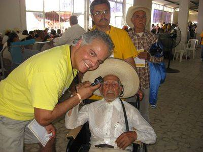 Dr. Cuevas in mexico - charity initiative