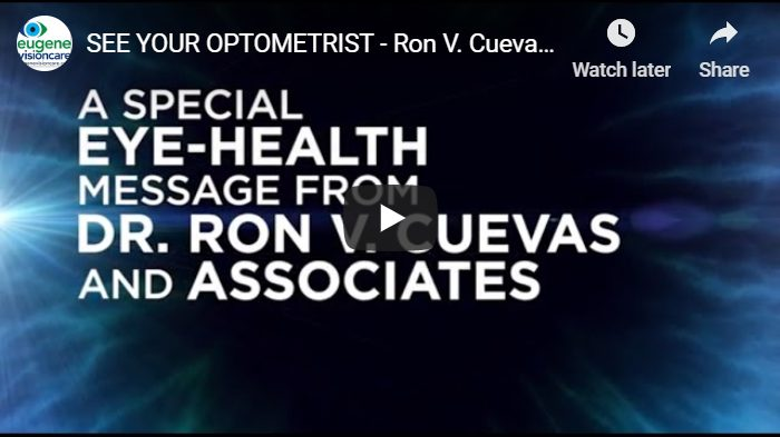 Video: See your optometrist. in Eugene, Oregon