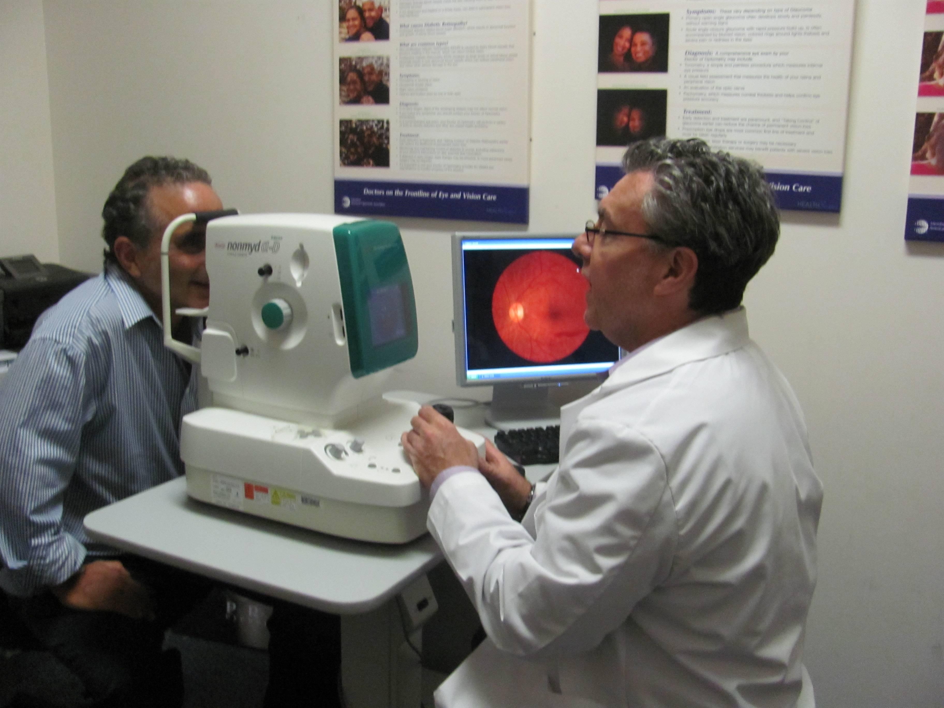 digital retinal camera at Edison eye doctor