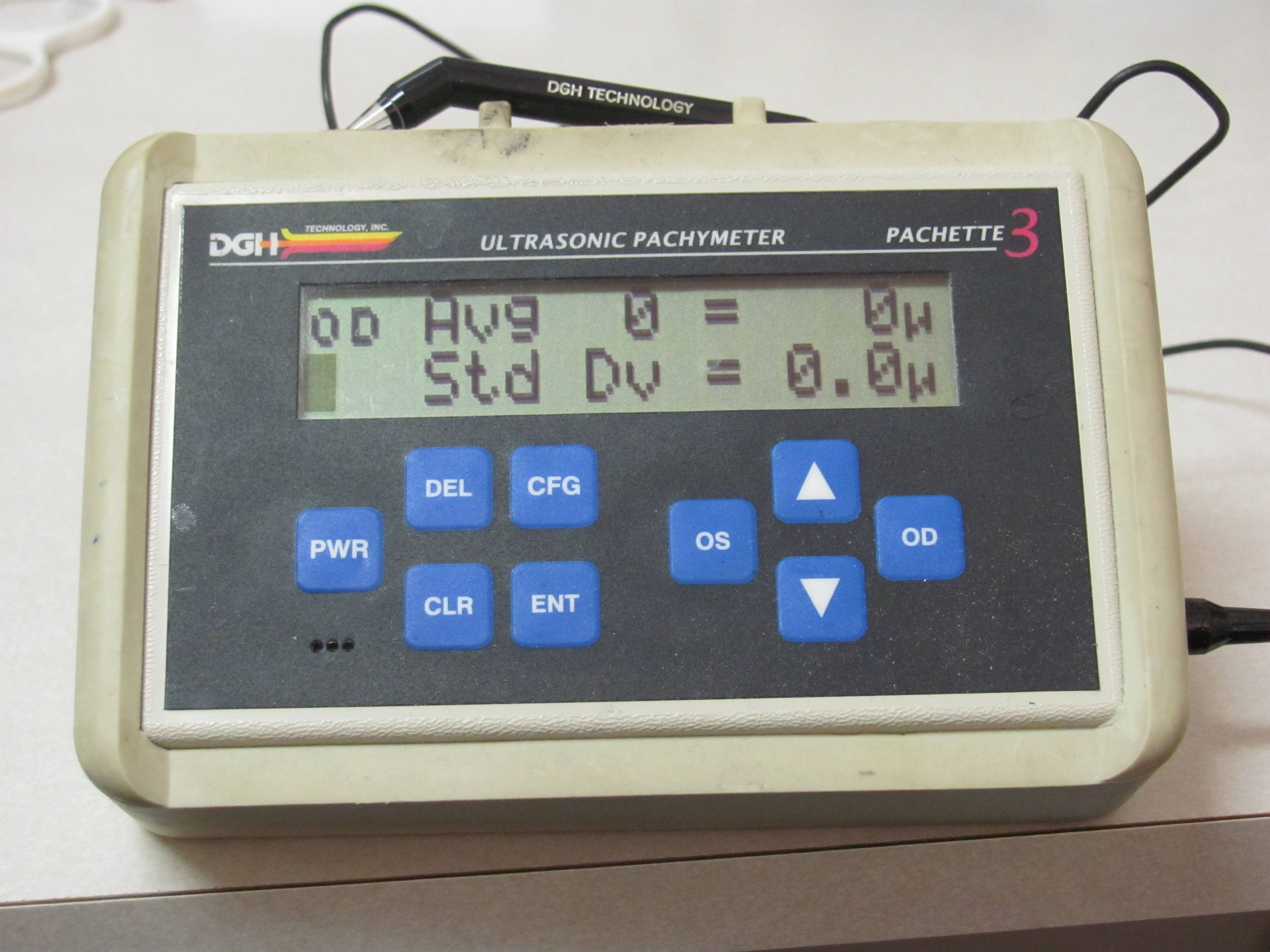 Pachymeter at edison Eye doctor