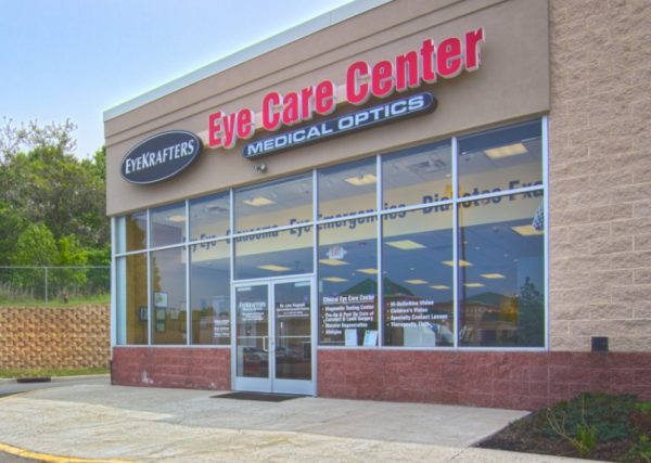 eyekrafters store front - optometrist, South Plainfield, Edison, NJ